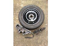 Renault 4x100 Full Size Spare Wheel Kit (205/55r16)