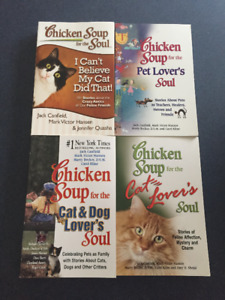 Chicken Soup for the Soul Books (Attention: Cat & Dog Lovers)