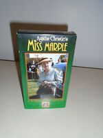 AGATHA CHRISTIE VHS MOVIE MISS MARPLE