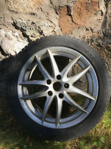 "VW GTI - RONAL - Michelin X-Ice XI3 tires 17"" (4) - 225/45 R17"