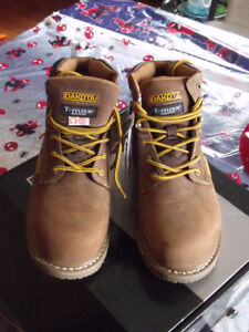 Men's size 9.5 tan work boots