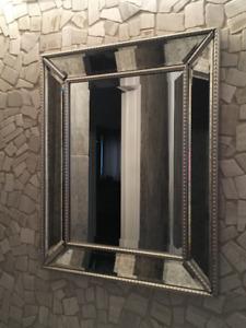 Rectangle Silver Mirror