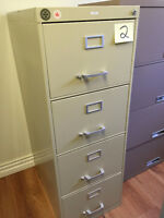 4 Drawer Vertical Filing Cabinets