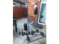Weights FOR SALE 195KG