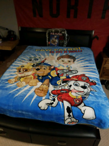 AWESOME Blankets!!!! Paw Patrol, Raptors, Maple Leafs & more!!!