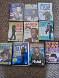 Bundle of comedians dvds