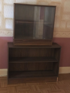 2 piece bookcase