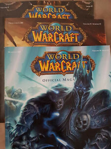 World Of Warcraft official Magazine 1-3
