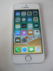 iphone 5s Silver Gray UNLOCKED Wind Rogers Bell Telus Freedom Ch