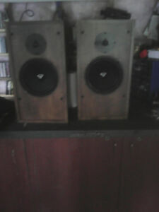 Cerwin Vega speakers