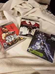 Red Dead Redemption/Dragon Age 2/Force Unleashed 2