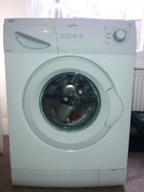 6KG AUTOWASHER WITH HOT+COLD FILL move forces quick sale