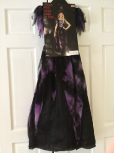 Witch costume with machetes hair 8-10 years $25