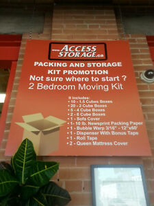 *** 99 CENT BOXES!!! 50% OFF MOVING AND PACKING SUPPLIES!!! *** Kitchener / Waterloo Kitchener Area image 2