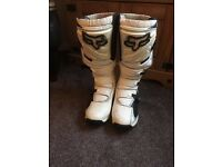 Fox Racing Moto X Boots