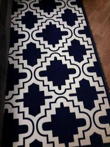 *** NEW *** ASHLEY JACORY NAVY RUG   S/N:51260888   #STORE574
