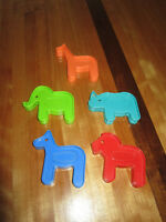 Tupperware Tuppertoys Noah's Ark Animal Cookie Cutters