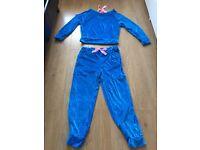 Women blue Tracksuit Size 8 Uk