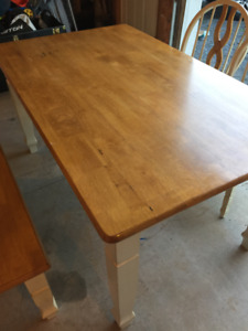 Dinning Table, Chairs and Bench