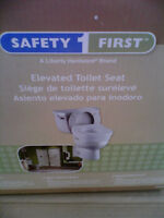 ELEVATED TOILET SEAT (New)