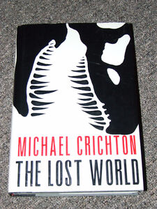 The Lost World-1st Edition/1st Printing-Michael Crichton - $45