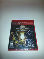 PS3 mortal kombat vs dc universe 25.00
