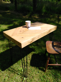 Chevron pallet table/desk