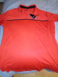 New with tags Nike Golf Polo Shirt Dri-Fit Size XL BRAND NEW!
