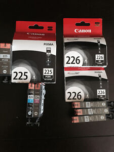 Canon 225 and 226 ink - brand new, unopened