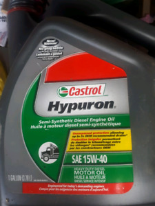 15w40 Diesel Oil | Kijiji - Buy, Sell & Save with Canada's