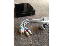 Wii Console - Input wires and console only