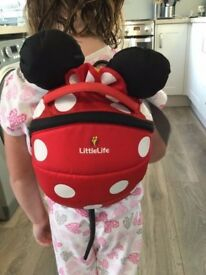 Littlelife Disney Minnie Mouse Backpack **REDUCED**