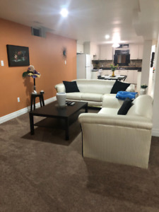 FULLY FURNISHED 1 BEDROOM BASEMENT APARTMENT FOR RENT- OCT 1ST