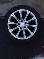 4 BMW 3 series Winter Rims and Tires