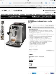 Machine A Cafè   Nespresso     Saeco