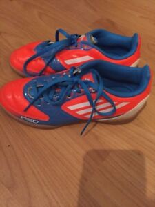Size 13 Adidas Indoor Soccer Shoes
