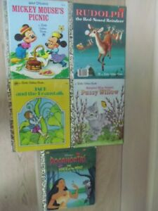 VARIOUS LITTLE GOLDEN BOOK COLLECTION