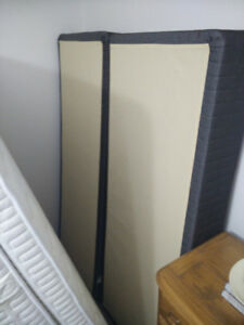 Never Used Queen Size Mattress and Split Box Spring