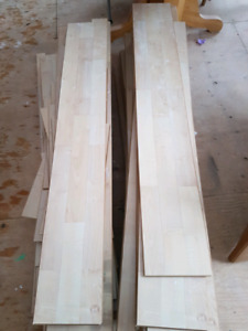 Bleached oak laminate flooring