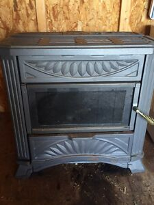 Oil drip fire place