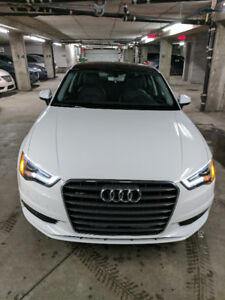 2016 Audi A3 2.0L QUATTRO lease take over AUDI CARE