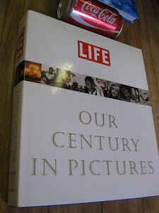 livre Life our century in pictures notre siecle  photo 423 pages