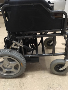 New Electric Portable Collapsible Wheelchair