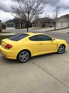 2006 Hyundai Tiburon Tuscani Coupe (2 door) REDUCED Sarnia Sarnia Area image 1