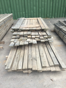 WEATHERED PINE PILE- LUMBER CLEAROUT