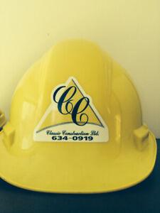 Saint John Road Building Contractor now hiring