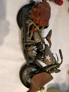 Motorcycle fits 12in dolls