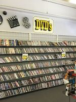 VIDEO STORE CLOSING DOWN!!! Everything must go!!!!