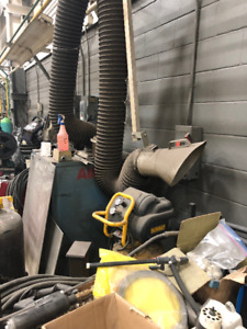 USED FUME EXTRACTOR