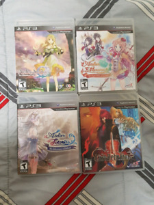 Atelier lot nis lot. Ps3 $40 for the lot